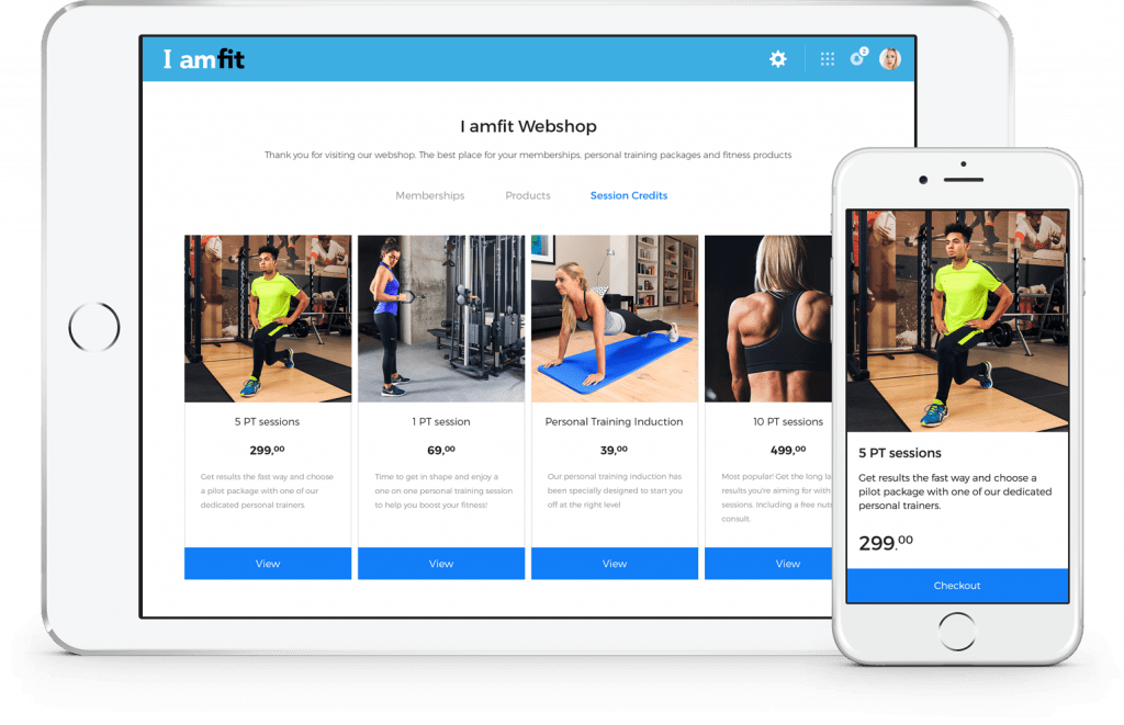 Sell Gym Memberships Online with Your Own Webshop | Virtuagym