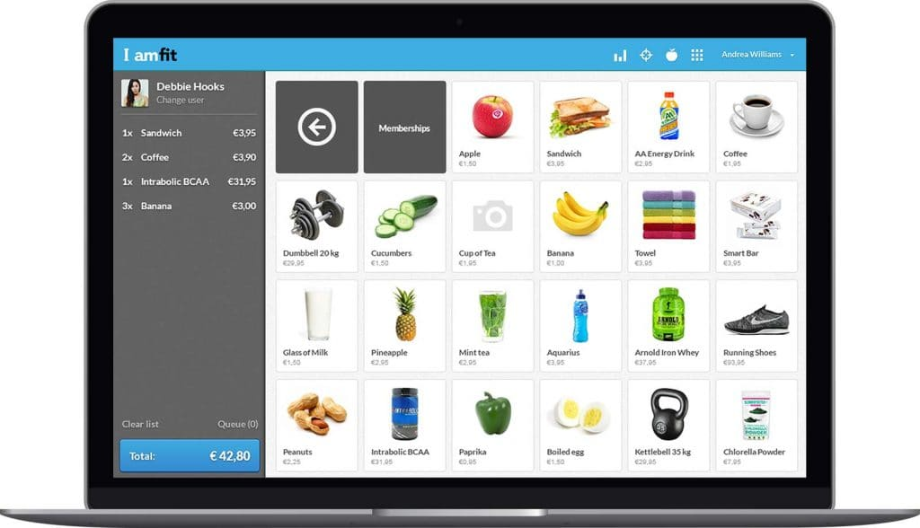 Point of Sale Software that is easy to use   Virtuagym
