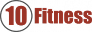 10 fitness logo